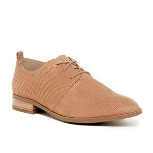 Franco Sarto Zane Tan Leather Oxford Size 6.5